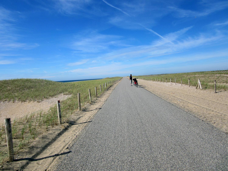 Der neue weg von Petten nach Camperduin