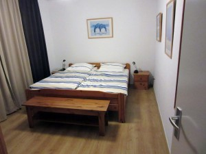 Hier sehen Sie das Schlafzimmer im Petten-Beach-Haus Nr. 18